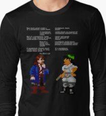 would woodchuck chuck wood Long Sleeve T-Shirt