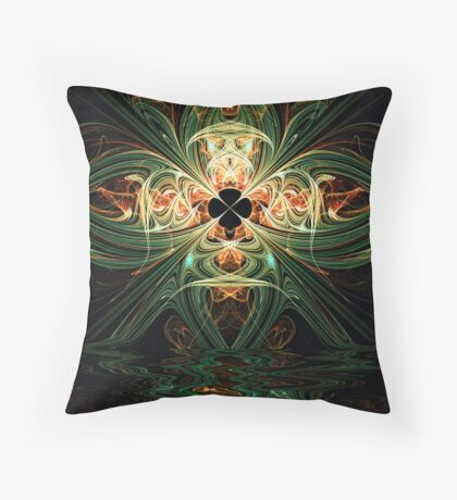 Crossed Lines Throw Pillow