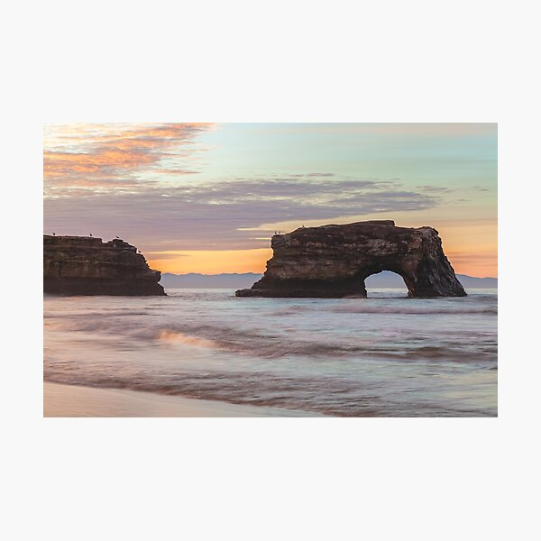 Natural Bridge sunrise Photographic Print