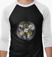 Chinese Mirror Men's Baseball ¾ T-Shirt