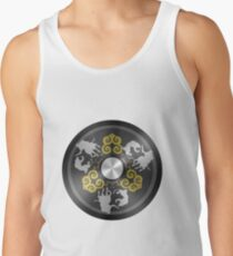 Chinese Mirror Tank Top