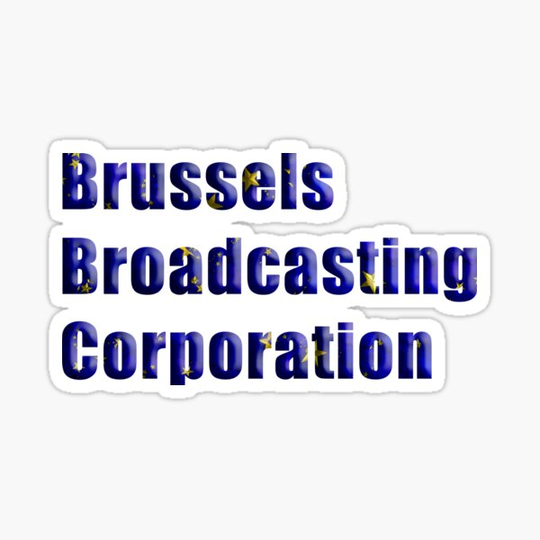 Brussels Broadcasting Association Sticker
