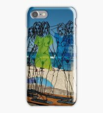 Naked Ladies, Sculptures By The Sea Exhibition 2006 iPhone Case/Skin
