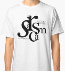 """Sarcasm is my only defense"" - Stiles Stilinski Classic T-Shirt"