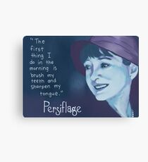 Persiflage - Dorothy Parker Canvas Print