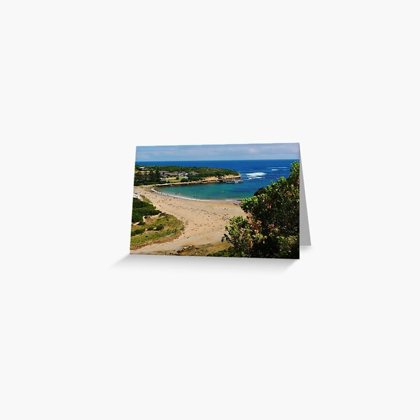 A postcard from Port Campbell Greeting Card