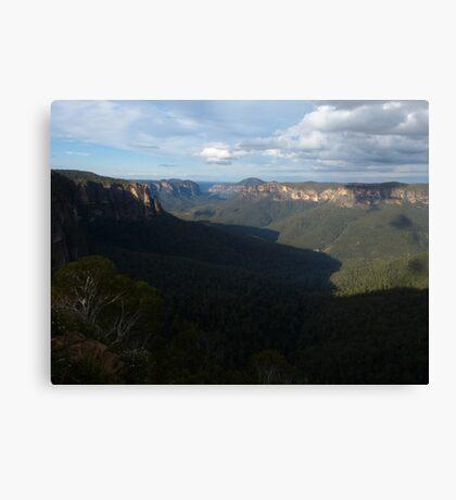 The Blue Mtns Canvas Print