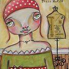 DRESSMAKER by Barbara Cannon Art Studio