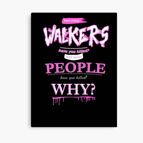 TWD questions Canvas Print