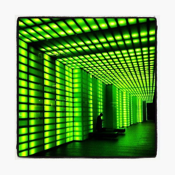 The green tunnel Photographic Print