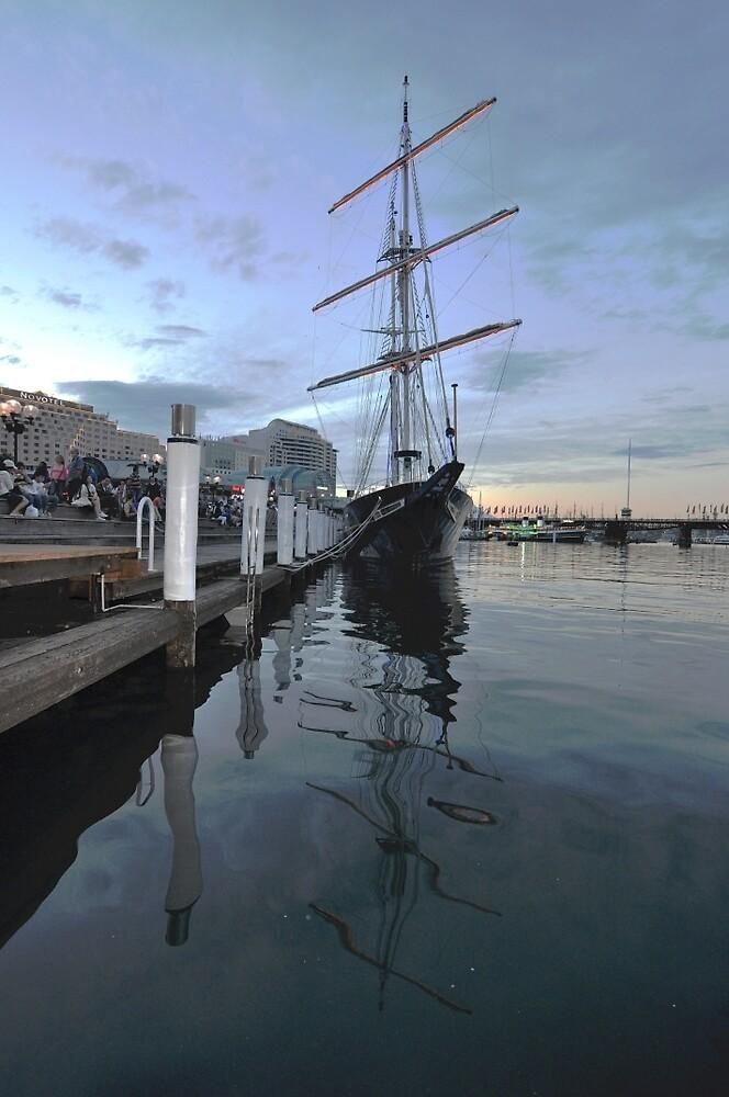Tall Ship, Fleet Review, Darling Harbour, Sydney 2013 by muz2142