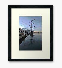 Tall Ship, Fleet Review, Darling Harbour, Sydney 2013 Framed Print