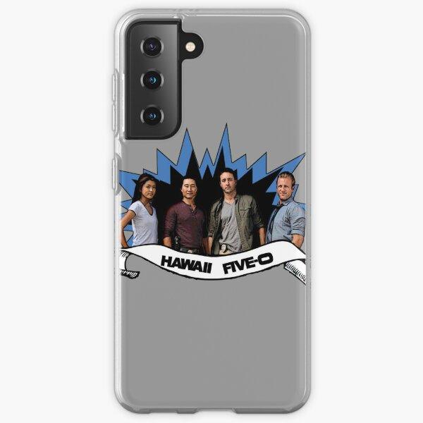 Hawaii cinq 0 équipe Coque souple Samsung Galaxy