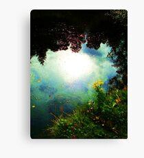 The Last Sun Of Summer Canvas Print