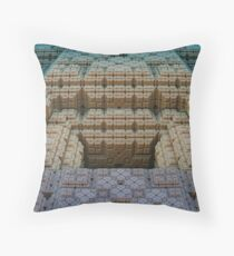 Alien Stronghold Throw Pillow