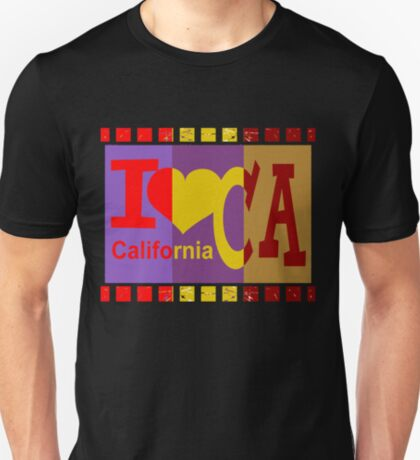 I love California - Pop Art T-Shirt