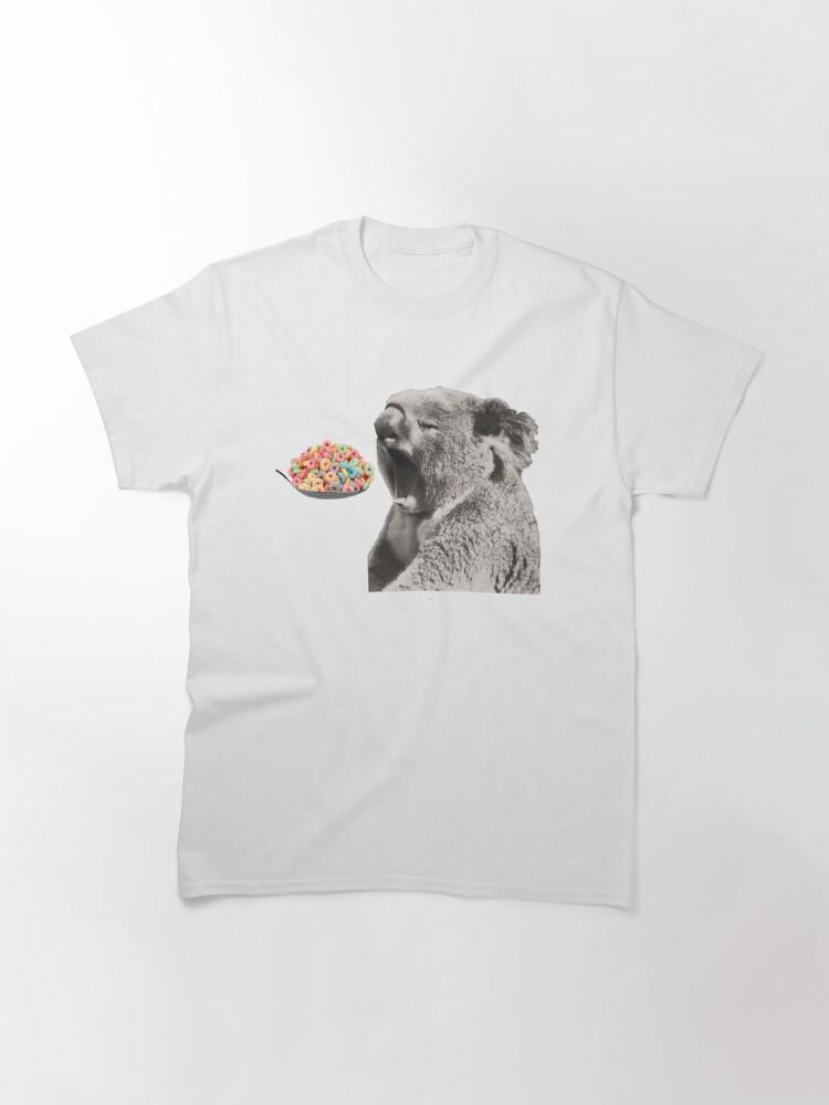 Vista alternativa de Camiseta clásica Levanta bien tu koala