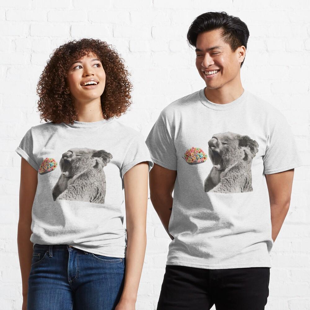 Levanta bien tu koala Camiseta clásica
