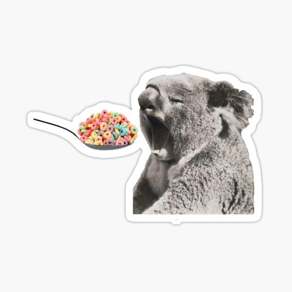 Raise your Koala well Sticker