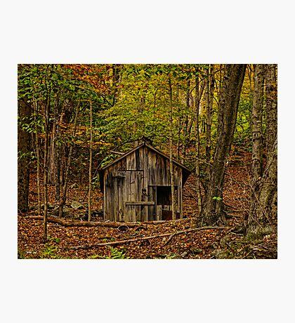 Threadbare Cloak Photographic Print