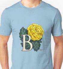 B is for Begonia - full image Unisex T-Shirt