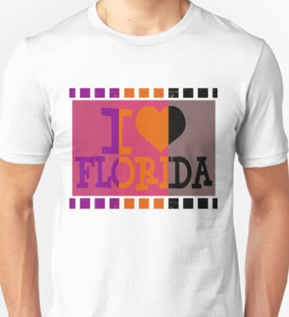 I love Florida and Pop art T-Shirt