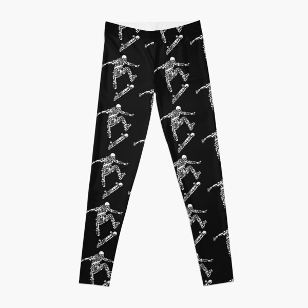 Skater product, skater shoes, boarders, skateboarder gift Leggings