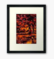 Deep Autumn Framed Print