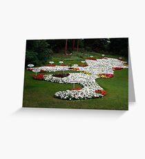 Insel Mainau - Bodensee flower Greeting Card