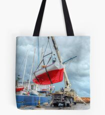 Coming Back in Nassau from a Regatta in Freeport - The Bahamas Tote Bag