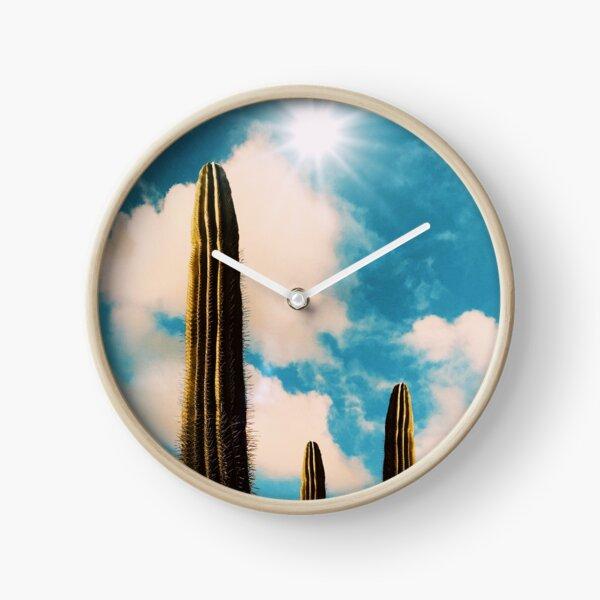 Surrealist photo-collage Clock