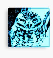 Ice Owl Canvas Print