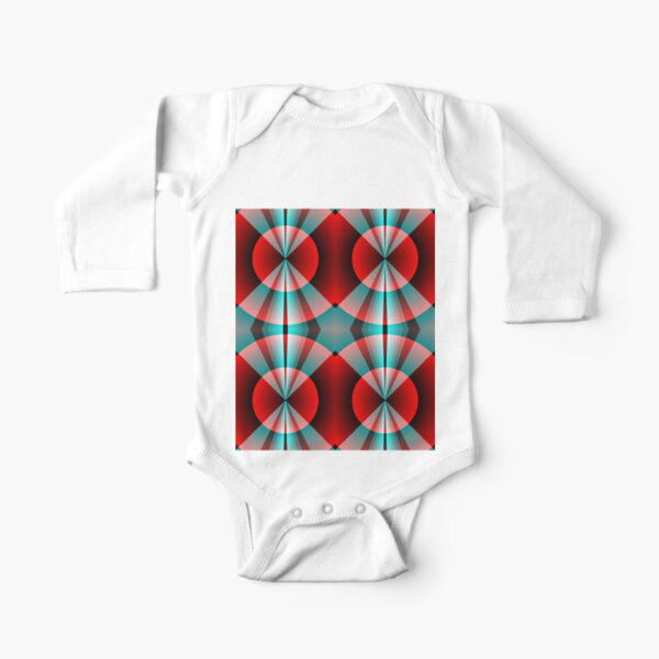 Graphic Design, Colors Long Sleeve Baby One-Piece