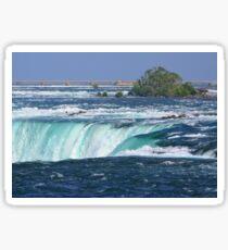 Landscape | Niagara Falls | Canada | From the Top | Waterfalls  Sticker