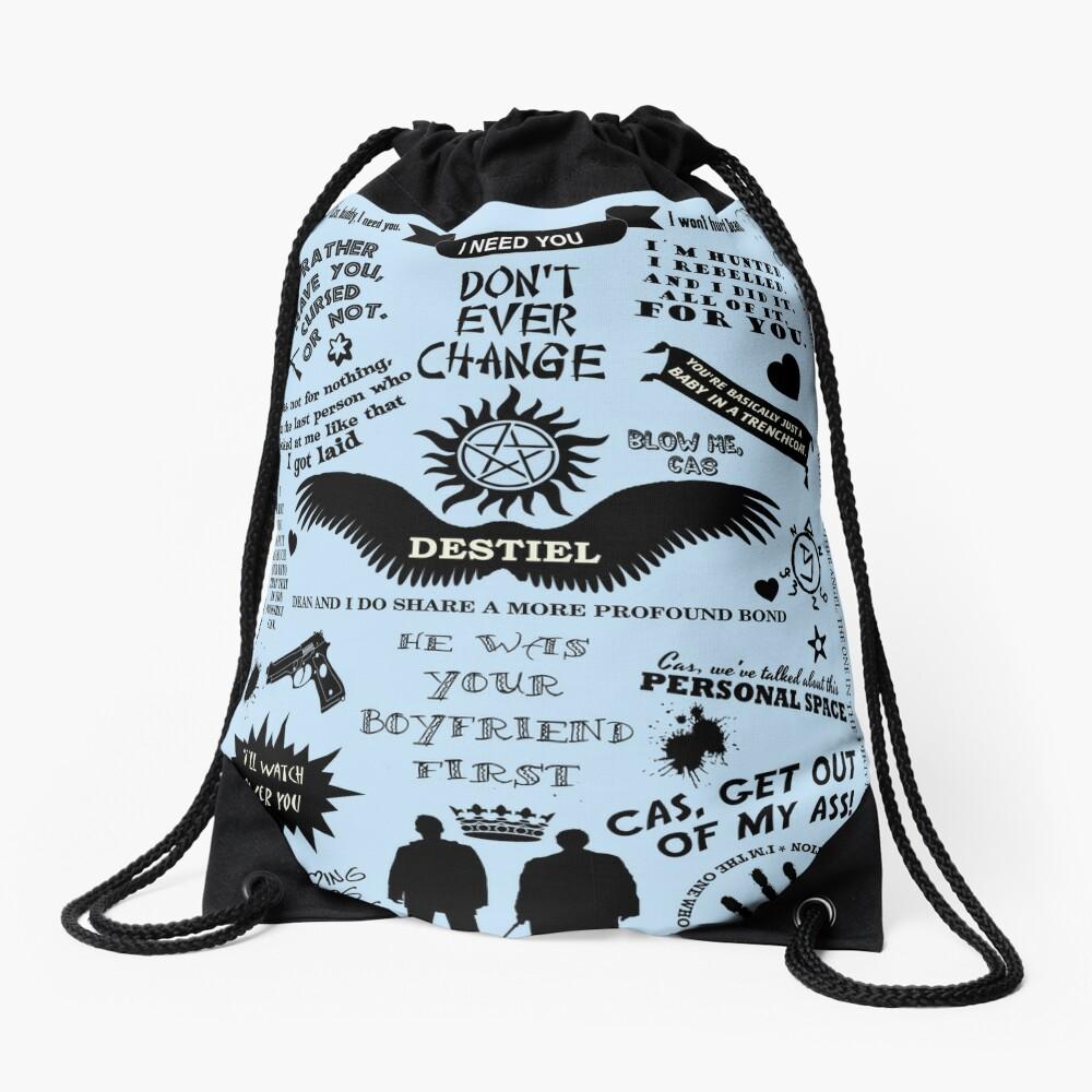DESTIEL LOVE Drawstring Bag