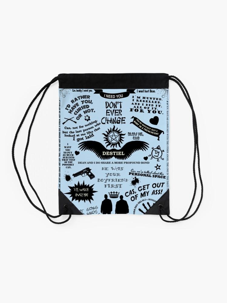 Alternate view of  DESTIEL LOVE Drawstring Bag