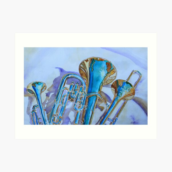 Brass Candy Trio Art Print