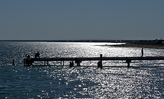 On Geographe Bay by Rick Playle