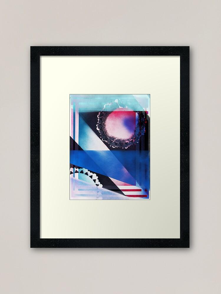 Alternate view of Blue Light Special Framed Art Print