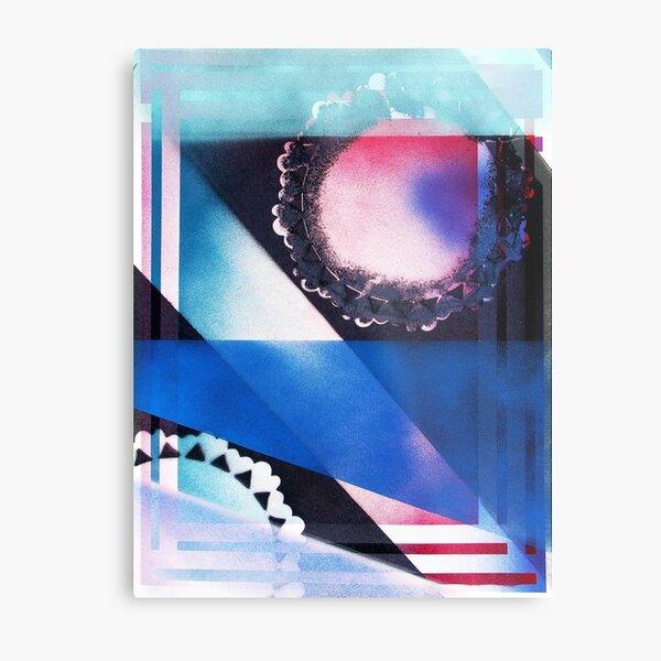 Blue Light Special Metal Print