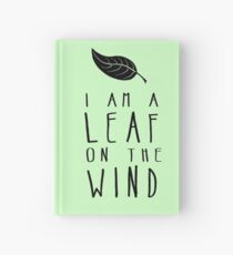 I am a Leaf on the Wind Hardcover Journal