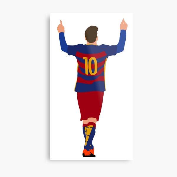 Lionel Messi - FC Barcelona  Metal Print