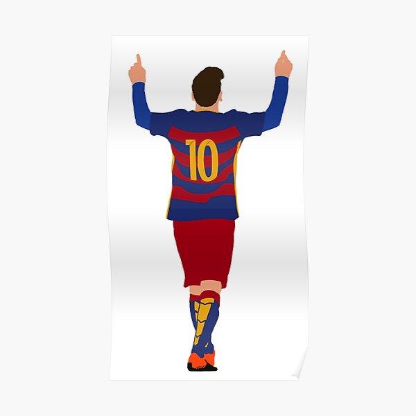 Lionel Messi - FC Barcelona Póster