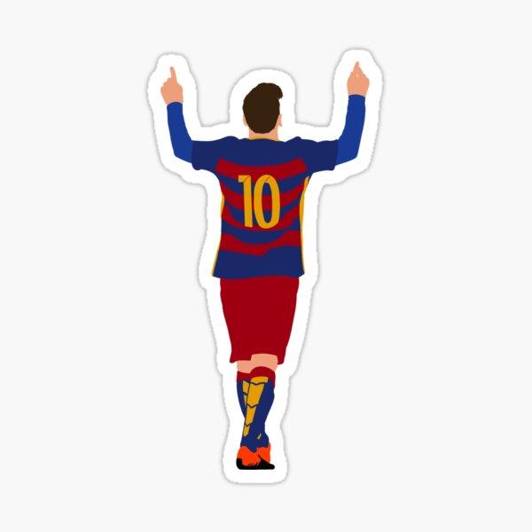 Lionel Messi - FC Barcelona Pegatina