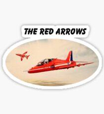 Bae Hawk T1a- The Red Arrows Sticker