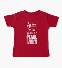 Alice In The Temple Of Pearl Garden Baby Tee