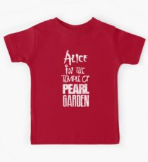 Alice In The Temple Of Pearl Garden Kids Tee