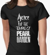 Alice In The Temple Of Pearl Garden Women's Fitted T-Shirt