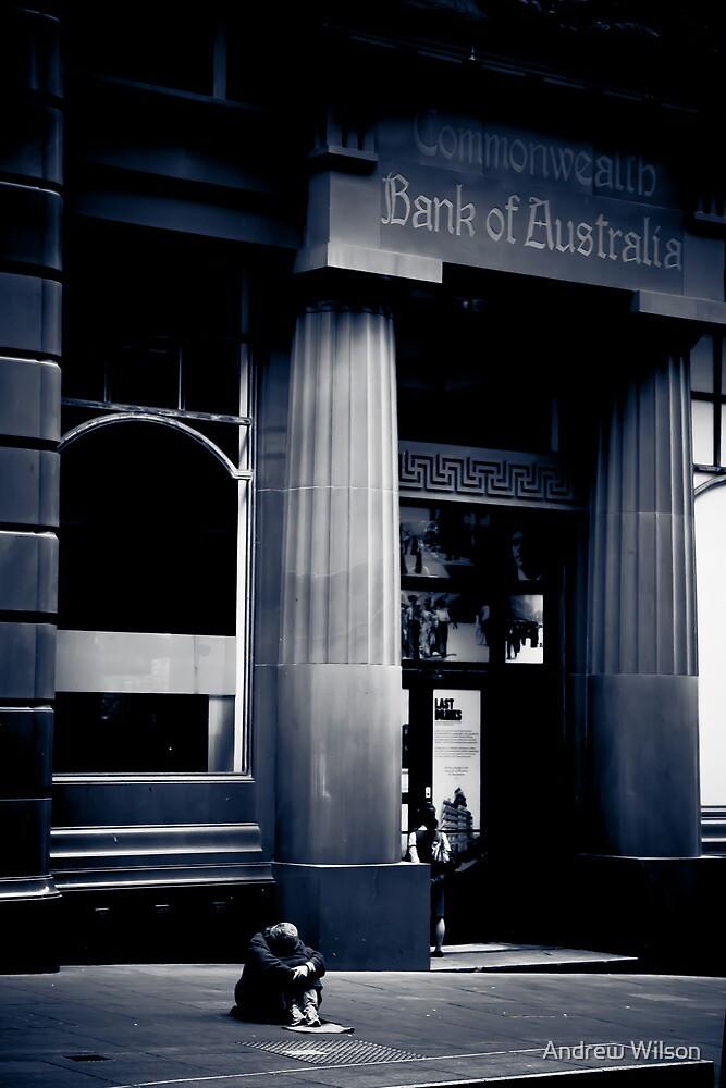 Banks announce $20 Billion profit by Andrew Wilson