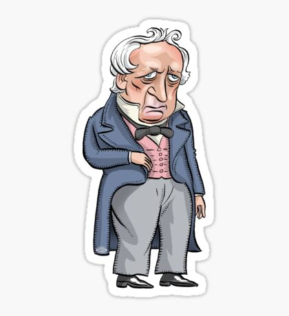 President James Buchanan Sticker
